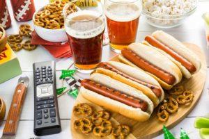 hotdogs med venner