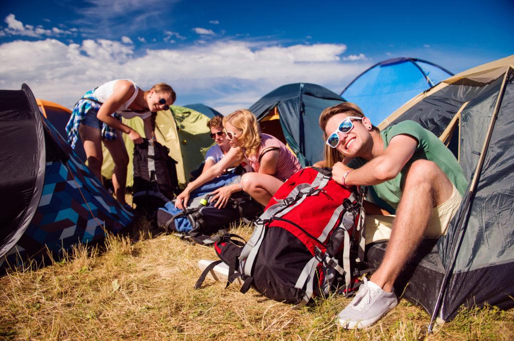 festival udstyr og gadgets