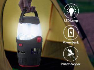3-i-1 Campinglampe
