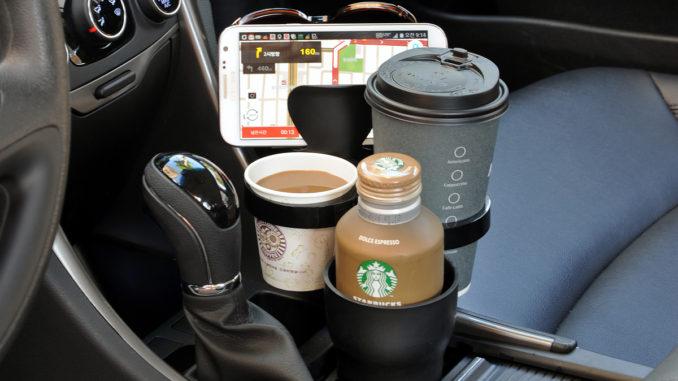 Multi-kopholder til Bilen