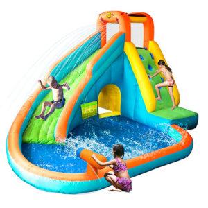 HappyHop Climb & Splash badebassin / hoppeborg