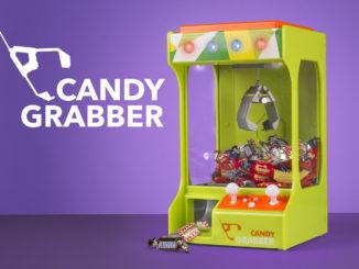 Candy grabber maskine