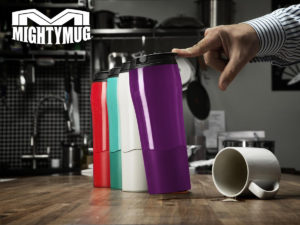 Termokrus med låg – Mighty Mug